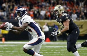 Broncos edge Saints
