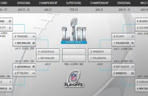 2017 NFL Playoff Bracket